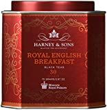 Harney and Sons Royal English Breakfast, Black 30 Sachets per Tin - Pack of 2