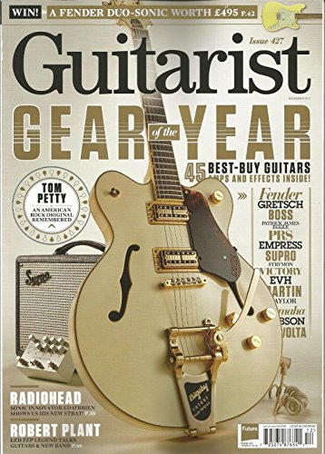 GUITARIST MAGAZINE, ISSUE 427, GEAR OF THE YEAR