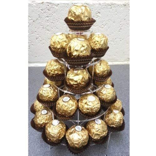 Ferrero Rocher Etagere für Süßigkeiten – rund – 5 Etagen