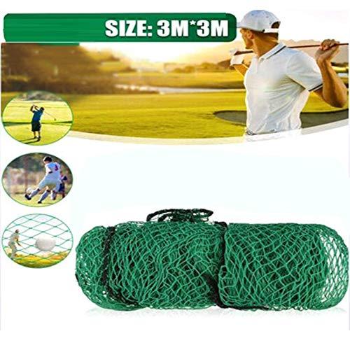 WXH Golf Practice Net-Qualitäts-3M * 3M Golf Net Nylonmaterial Golf Training Net Indoor- Und Outdoor Golf-Ausrüstung