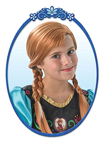 Rubie's Masquerade Enfants Taille Disney congelé Perruque Anna