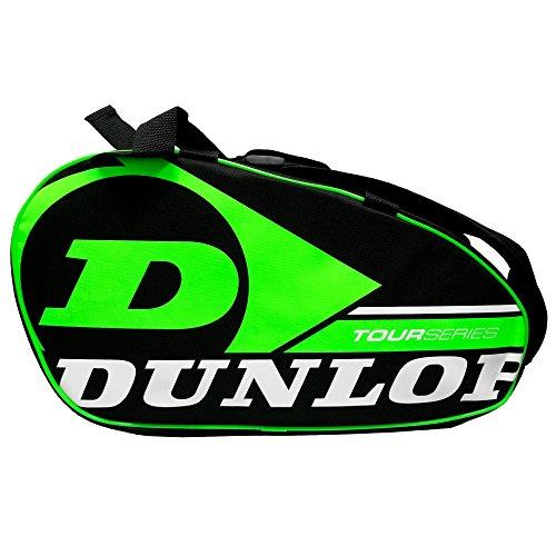 Dunlop Paletero de pádel Tour Intro Negro/Verde Flúor