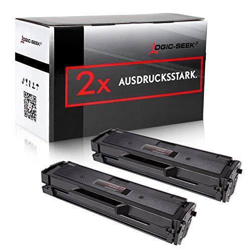 2 XXL Toner kompatibel für Samsung SL-M2026w SL-M2026/SEE XpressM2070FW M2071FW M2020W - MLT-D111S/ELS - Schwarz je 2500 Seiten