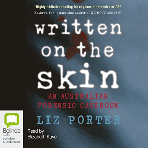 Written on the Skin audiobook cover art