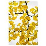 artboxONE Poster 90x60 cm Floral Ginko hochwertiger Design