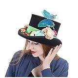 HUANRUOBAIHUO-HAT Sombreros de Moda, Gorras, Sombreros Elega