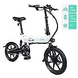 FIIDO D2/D2S Ebike, Bicicletta elettrica Pieghevole per Adulto, 250W Sport ad Alta...