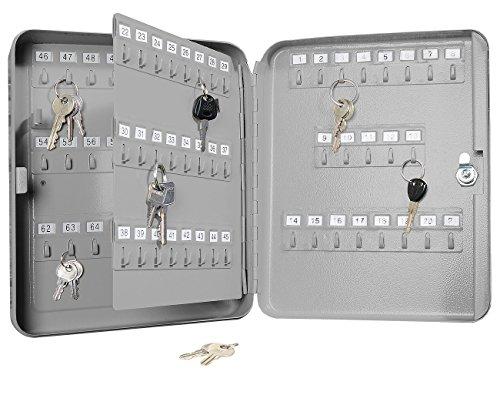 Xcase Mini Armadietto Portachiavi in Acciaio per 93Chiavi