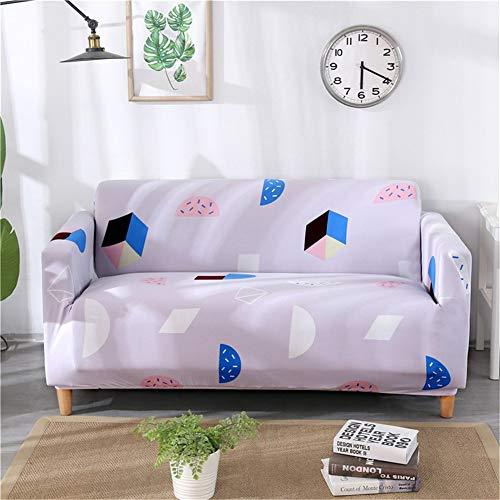 QBFT Anti-slip gewatteerde sofa-sprei, stretch volledige dekking, sofahoes, hond, ademend, universele sofa-overtrek, 3-zits, hoekbank, L-vormige bankhoezen