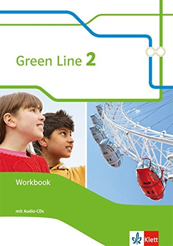 Green Line 2: Workbook + Audio-CD Klasse 6