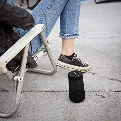 Bose SoundLink Revolve (Serie II) Bluetooth speaker - Tragbarer, wasserabweisender kabelloser Lautsprecher mit 360°-Klang, Schwarz