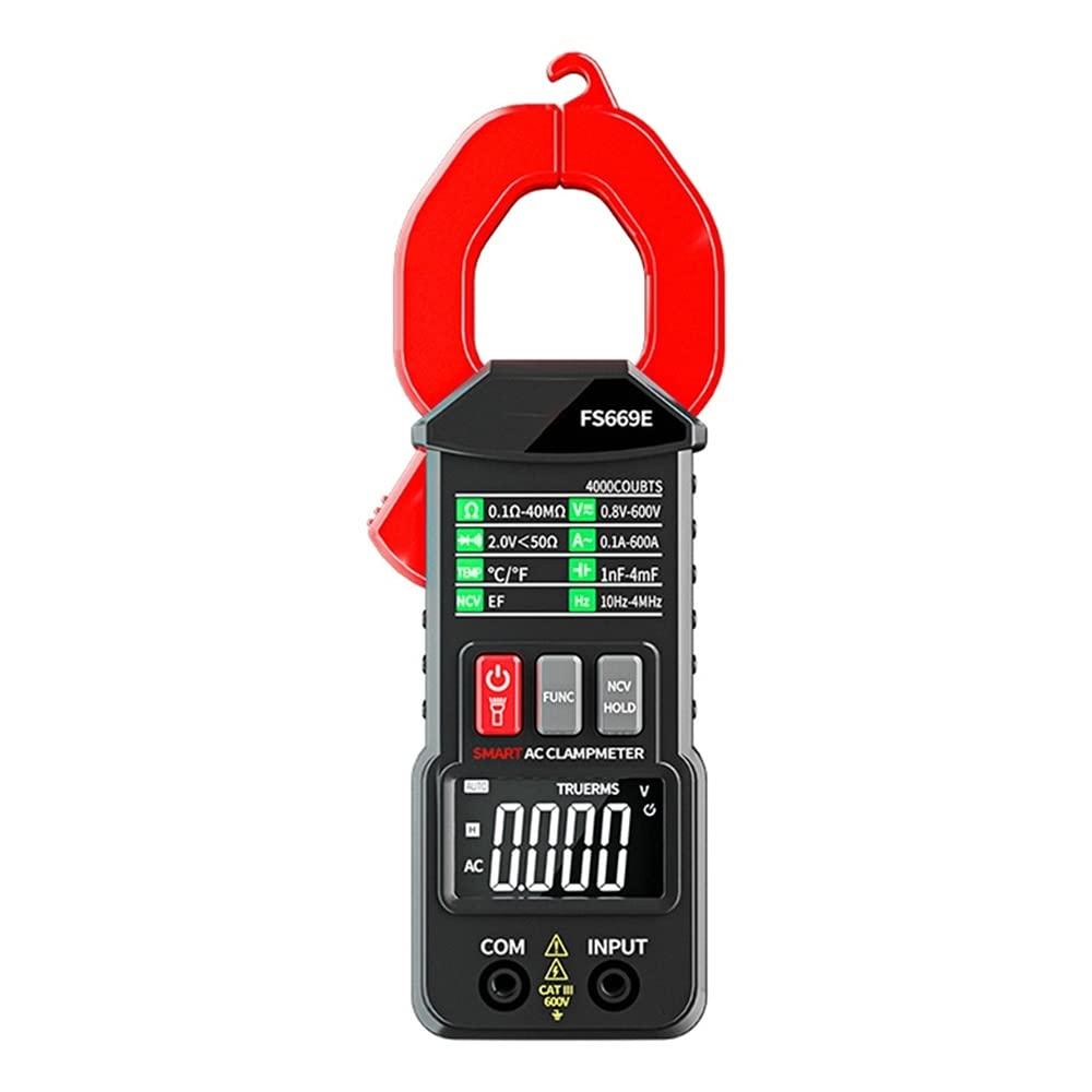 Abnana Digital Clamp Meter DC AC Multimeter Arlington Mall Current Ammeter 5 ☆ popular Volt