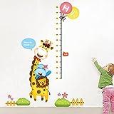 miyaa adesivo murale altezza,giraffa e animale misurazione altezza sono adesivi utilizzati per decorare la casa di aiuole fiorite e di una sala per bambini sfondi per decorare le pareti