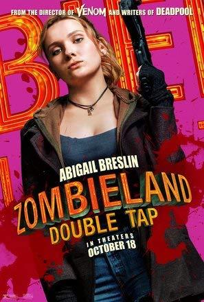 Zombieland : Double TAP – Abigail Breslin – Film Poster Plakat Drucken Bild - 43.2 x 60.7cm Größe Grösse Filmplakat