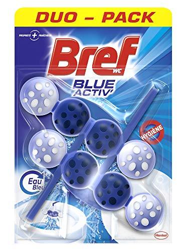 Bref WC Blue Activ' Hygiène – Bloc Nettoyant WC – Duo-Pack (2 blocs WC)