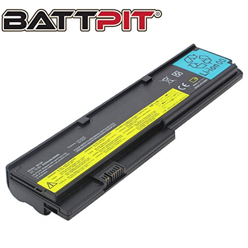 BattPit Laptop Battery for Lenovo 42T4536 42T4648 42T4649 42T4837 47T4647 ThinkPad X200 X200s X200si X201 X201i - High Performance [6-Cell/4400mAh/48Wh]