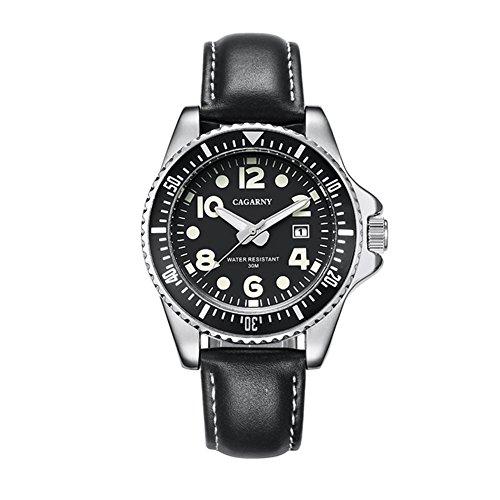DAZHE Relojes Militares Relojes de Cuarzo, Reloj de Cuarzo de los Hombres...