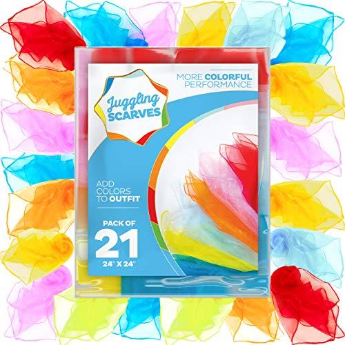 Juggling Scarves (21 Pack), Play...
