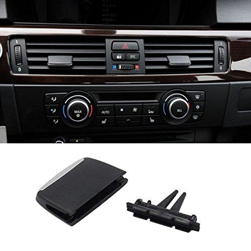 for BMW 3 Series E90 E91 E92 E93 Air Vent Tab, Jaronx Upgraded Front Row Fresh Air Grille Clips Air Conditioning Vent Outlet Tab Clip -1PCS (for BMW 3 Series E90 E91 E92 E93 2005-2011)(Front Row)
