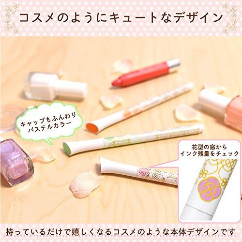Sakura Fun Writing Gel Ink Roller Ballpoint Pen for Decoration, Decorese Pastel 5 Color Set A, Fruity Color (DB206P5A) Photo #4