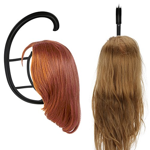 Professional Plastic Wig Display Wig Hair Hat Stand Hair Holder Hats Collapsible Display Holder Tool