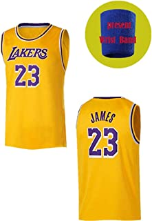 Misnt going James 23# Yellow Youth/Kids Basketball Jerseys
