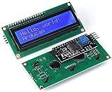 ZHITING 2 Pack IIC / I2C 1602 Seriale 5V Display LCD retroilluminato blu per Arduino 2560 AVR