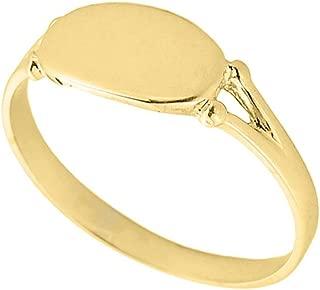 Best ladies gold signet ring Reviews