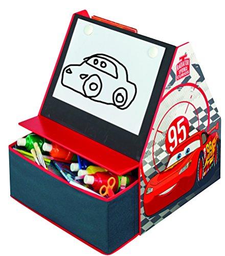 Worlds Apart 482CCC Disney Cars kinderbord en opbergmogelijkheid, 59,5 x 54,5 x 51 cm