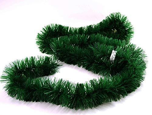 Bada Bing 4er Set Tannengirlande Jeweils 180 cm Girlande Weihnachten Deko Insgesamt Ca. 7,20 m Tannengrün 03