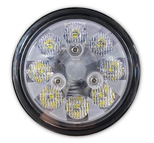 PAR36 4.5' Dia Sealed Beam LED Replacement Lamp | 12/28VDC | 2,100 lumens | Upgrade for Tractor Headlight, Off Road Driving/Fog Lights, Marine Mast/Docking Lights, Wrecker, Public Safety
