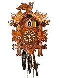 Reloj de cuco original de la Selva Negra (certificado), mecanismo mecánico de 1...