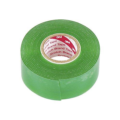 エーモン 超強力両面テープ (クリアパーツ・ガラス面などに) 車内・車外兼用 透明 幅25mm×長さ2m×厚さ1mm 3929