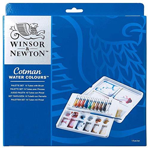 Winsor & Newton Aquarela Cotman, Palette Set, 10 Cores