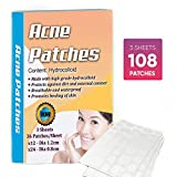 Hydrocolloidal Acne Pimple Patch - Hormonal Acne Treatment for Women,...