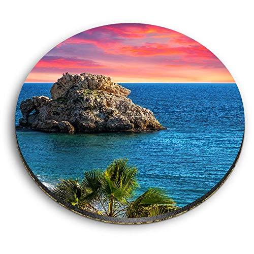 Destination Vinyl ltd Impresionantes imanes redondos MDF - Costa del Sol Málaga...