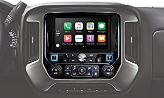 "Alpine Electronics i209-GM MECH-Less Restyle Dash System with Apple Car Play & Android Auto for Chevy Silverado (2013-Up) or Gmc Sierra (2013-Up), 9"" (B078KHBF2K) 