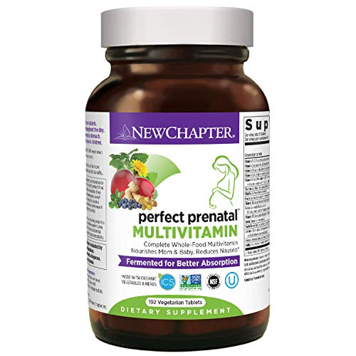 1. New Chapter – Perfect Prenatal Multivitamin