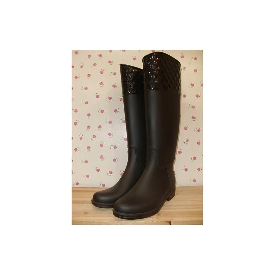 懺悔味付け出来事[shoes_yh142] 雨の日も楽しくなるエレガントなデザインレインシューズ ロングブーツ レディースレイン レインブーツ カジュアル ビジネス スプリング spring 梅雨 防水 長靴 ラバーブーツ 女性用 雨靴 rain 靴 シューズ レイン