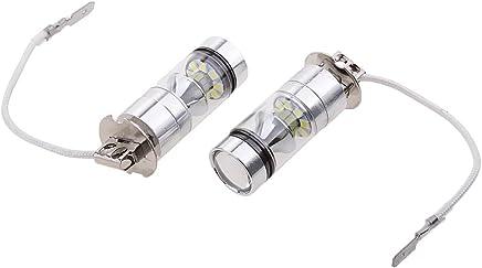 Faros antiniebla 880//881 3000K Amarillo /ámbar 6000K Blanco Bombillas LED 80W 9600LM paquete de 2