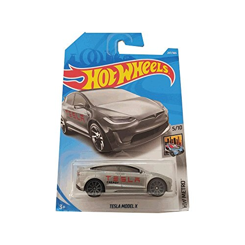 Hot Wheels Tesla Model X - HW Metro - Carta Larga