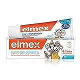 elmex Baby-Zahnpasta, 1 x 50 ml - Zahncreme für Milchzähne. Für Kinder von 0-2 Jahren