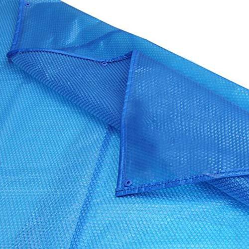 JLXJ Cobertor Solar Piscinas Cubierta de Piscina Piscina Solar, Burbujas Rectangulares Piscinas de Calefacción Tarpaulina con Ojales, para Piscina en Tierra/Bañeras de Hidromasaje/SPA