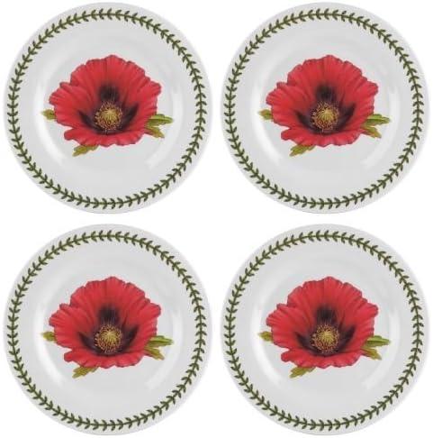 Portmeirion Botanic Garden Outlet SALE Set of 4 Plates Sale SALE% OFF 8 Salad Melamine 8