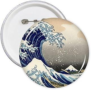 Kanagawa Surfer sur Internet au Japon Art Style japonais Ukiyo-e Katsushika Hokusai célèbre peintures Wave et mer Illustra...