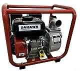 SAKAWA Motobomba Agua 30.000 L/h Salida 2' 7CV