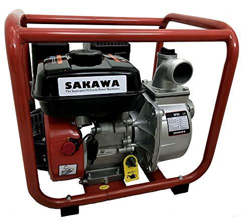 """SAKAWA Motobomba Agua 30.000 L/h Salida 2"""" 7CV"""