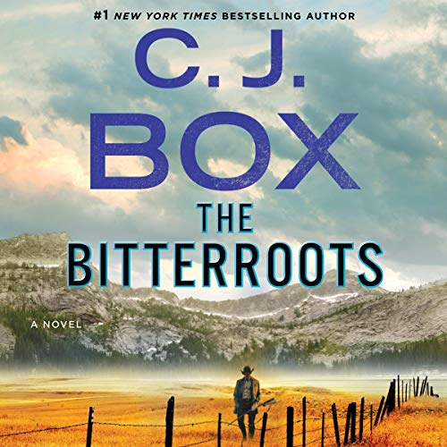 The Bitterroots audiobook cover art