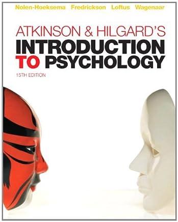 Atkinson & Hilgards Introduction to Psychology by Susan Nolen-Hoeksema Barbara L. Fredrickson Geoff R. Loftus Willem A. Wagenaar(2009-06-15)