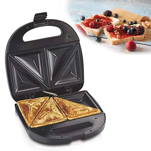KangHan Multifunción Huevos Sandwichera Eléctrica, Mini Parrilla Pan Galleta Crepe Crepe Tostadora Desayuno Hornada Máquina 750W 220V
